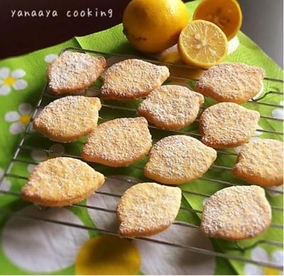 アドバイス求とキッチンとレモンシュガークッキー