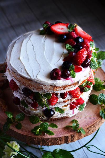 本命にネイキッドケーキ 簡単で惚れちゃう