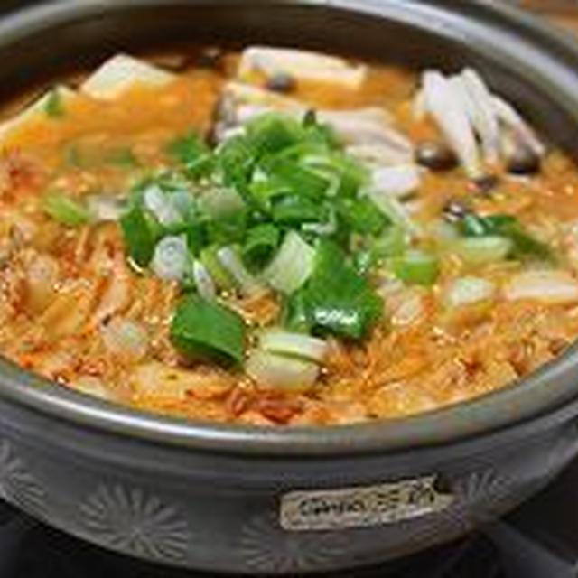 キムチ鍋の夜
