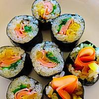 ★身近な材料で簡単♪♪美味しい海苔巻き(김밥)。