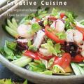 スパイス大使レシピ★パクチー無くても簡単♪混ぜるだけ♪美味しいタイの魚介サラダ♪