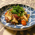 ホタルイカと筍の炒め物
