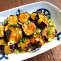 ♡野菜がごちそう♡なすの中華風マヨポン焼き♡【#簡単#時短#節約#夏野菜#連載#スタイリング】