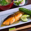 鮭照り焼き・ふろふき大根・野菜の焼きびたし☆3品レシピ by P子さん