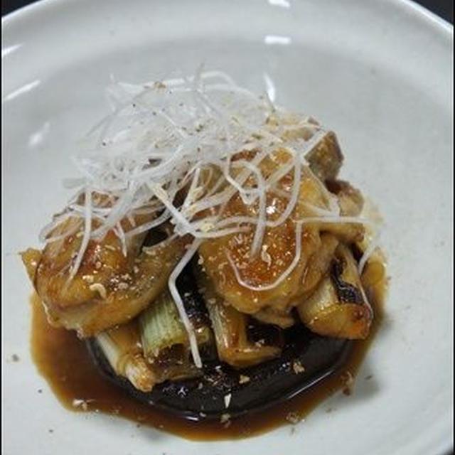 パパっとおつまみ♪牡蠣と椎茸のしぎ焼き ~レシピ~