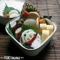 豚バラロールin大根の味噌煮のお弁当 by YUKImamaさん