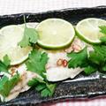 プラーヌンマナーオ(白身魚のライム風味蒸し) by とまとママさん