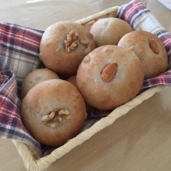 ミックスナッツのパン
