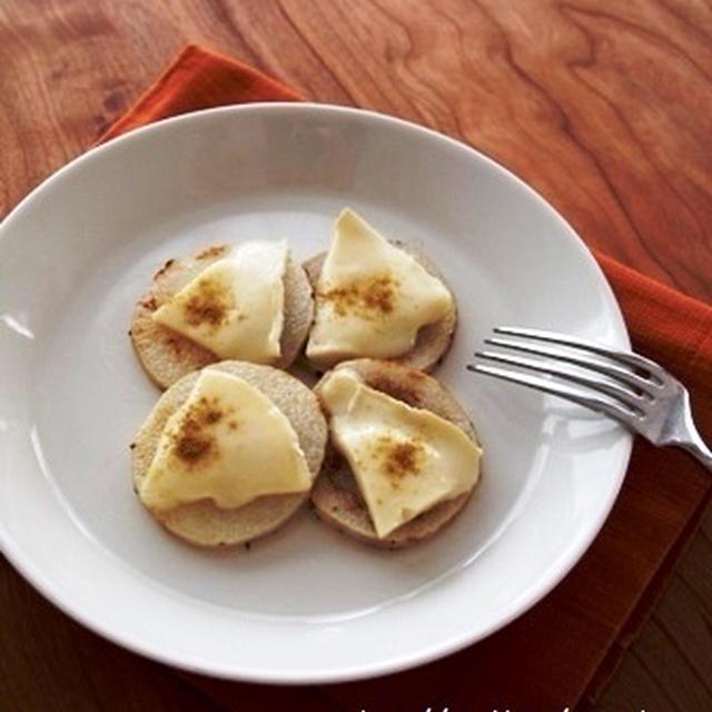 長芋のスパイシーカマンベール焼き