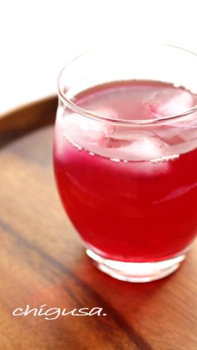 子供も飲める、優しい酸味の赤紫蘇ジュース