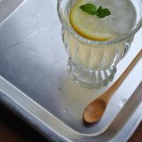 梅のハーブレモンはちみつ。ソーダ割り