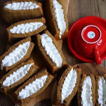 ■ふわんふわんしっとりな紅茶シフォンケーキ♪