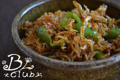 ジャコと甘とうの韓国炒め