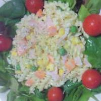 ミックスベジタブルのツイストサラダ
