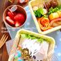【キャラ弁】次男宿泊体験のお弁当