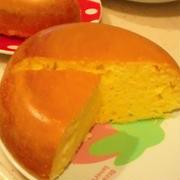 ホットケーキミックスで簡単ふわふわケーキ 炊飯器使用