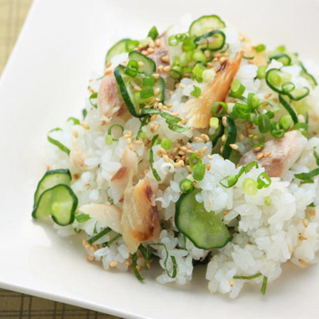 干物ときゅうりのちらし寿司