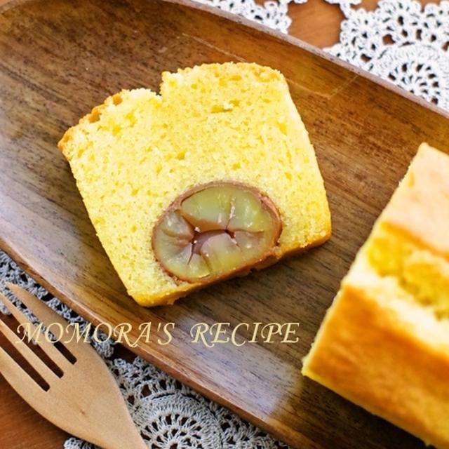 洋酒たっぷり混ぜるだけ簡単本格お菓子♪栗の渋皮煮の贅沢パウンドケーキ&新しい家族が…♡
