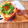 クリスマススープ*オニオンスープのパイ包み