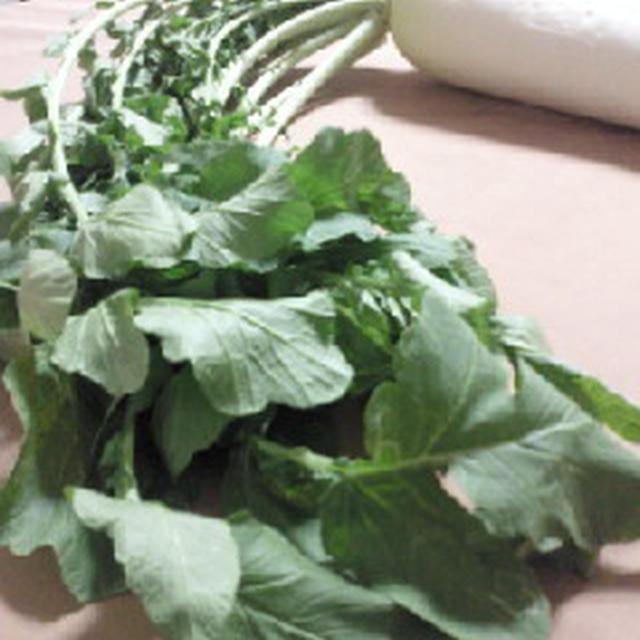 大根菜で常備菜☆まずはビタミンCたっぷりの大根ごはん