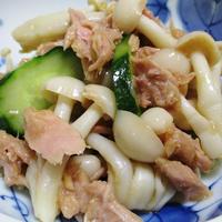 ツナとブナピーのサラダ<麺つゆしょうが風味>