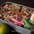 肉牛蒡の炊きこみご飯・弁当