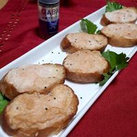 ペッパー海老パン