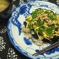 鶏そぼろの散らし寿司