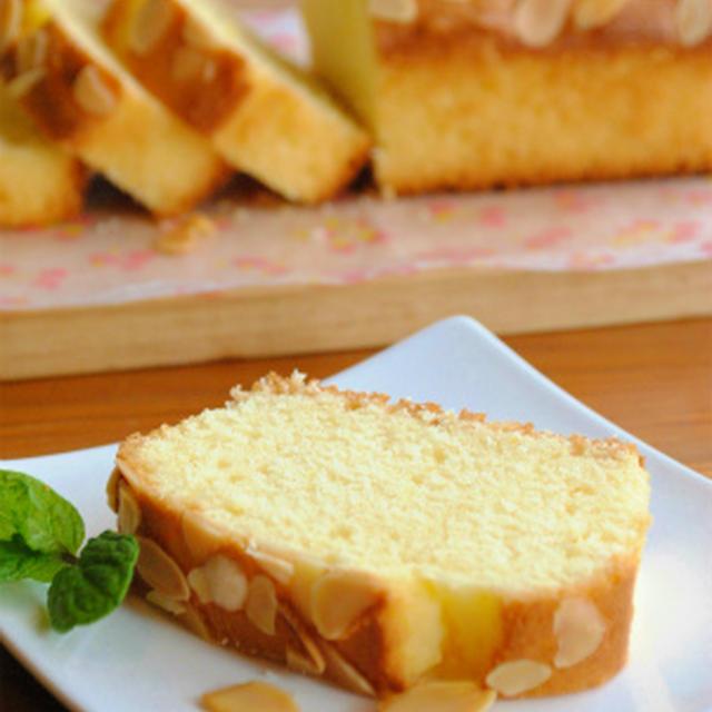 ホットケーキミックスで作る 柚子のパウンドケーキ ☆