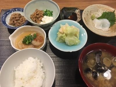 休肝日のお夕飯