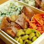 葉つき大根シーズンインの喜びを歌え、の菜飯&塩豚弁当 by 素風