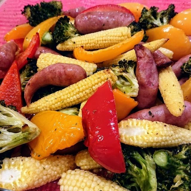 簡単で美味しい!グリル野菜