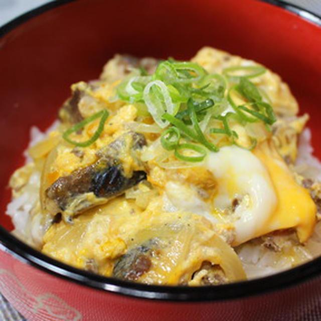 365日米レシピNo.97「サバ缶で作る他人丼」