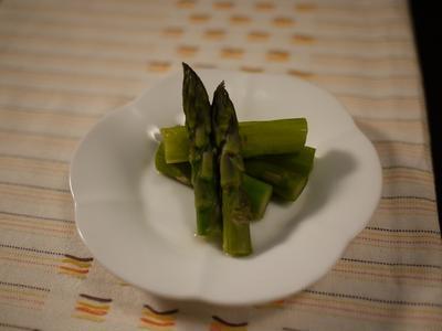 お弁当にも「白だし」時短カンタン  はなまるマーケット 紹介されたレシピ集~♪ 蒸しアスパラ