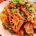 豚肉と蓮根のきんぴら(動画レシピ)/Sauteed Pork and lotus root. by みすずさん