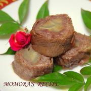 お正月♡簡単レンジで下ごしらえ♪おせちに牛肉とゴボウの甘辛八幡巻♡お弁当にも