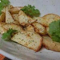花椒塩とパクチーでエスニック♪ 揚げないフライドポテト