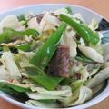 サバの味噌煮缶と野菜炒め☆胡麻油風味
