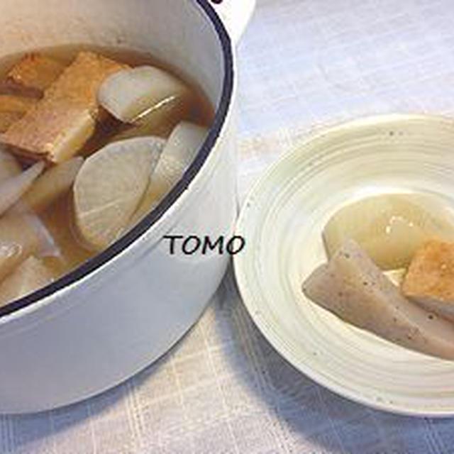 あったか料理♪モランボン PREMIUM 地鶏だしちゃんこ鍋 de ふろふき大根