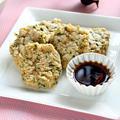 オートミールとおからの焼き餅風【簡単ダイエットおやつ】|レシピ・作り方