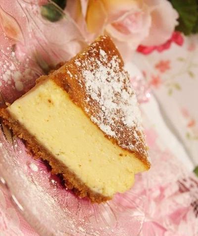 栗原はるみさん流『ベイクドチーズケーキ』レシピ♪