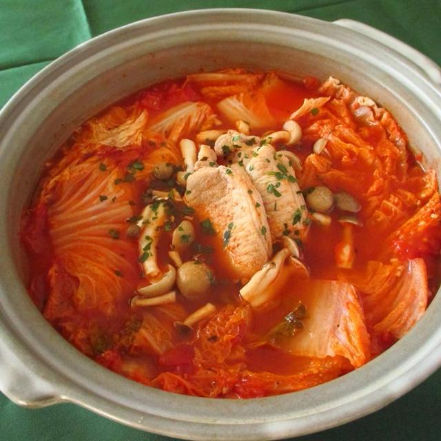 燃焼系ピリ辛トマト鍋