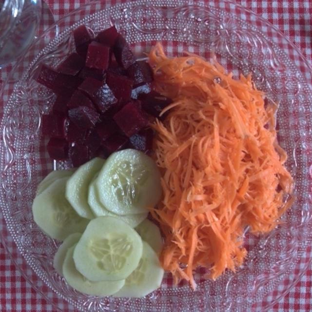 ビストロの超あっさりさっぱり「サラダ・クリュディテ」の再現レシピ