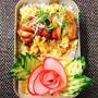 (番外編)東京日帰り旅行・NYキャラメルサンド訂正・変わり親子丼レディーサラダのお花弁当・9分割