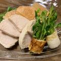 鶏ハムとグレープフルーツプレート / Wジューシー