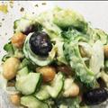 アボカドとゴーヤの栄養満点サラダ by きくママさん