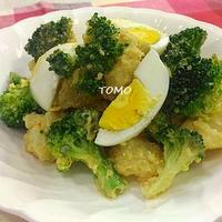 李錦記オイスターソース de じゃがいもとブロッコリーのデリ風サラダ