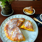 【簡単!!材料3つ】卵不使用!フライパンで*もちもちかぼちゃパンと、怖い話が無理な件