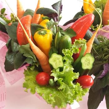 彩り野菜のあったか蒸し野菜