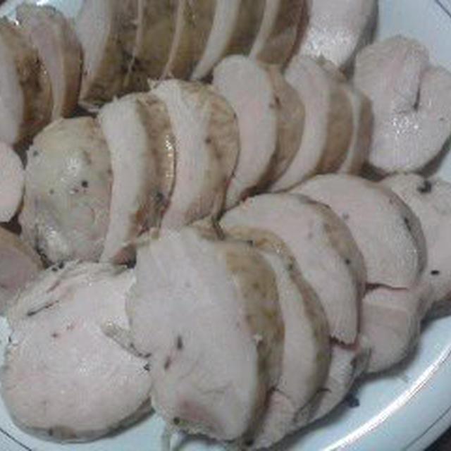 スパイスでお料理上手 クリスマスや年末年始に役立つおもてなしチキン料理♪①スパイスたっぷり鶏ハム